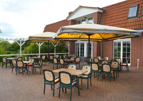 Terrasse Restaurant an der Müritz